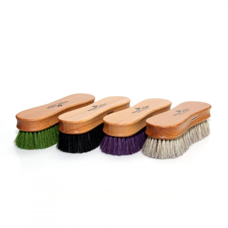 Polierbürste aus Rosshaar - in 5 Farben